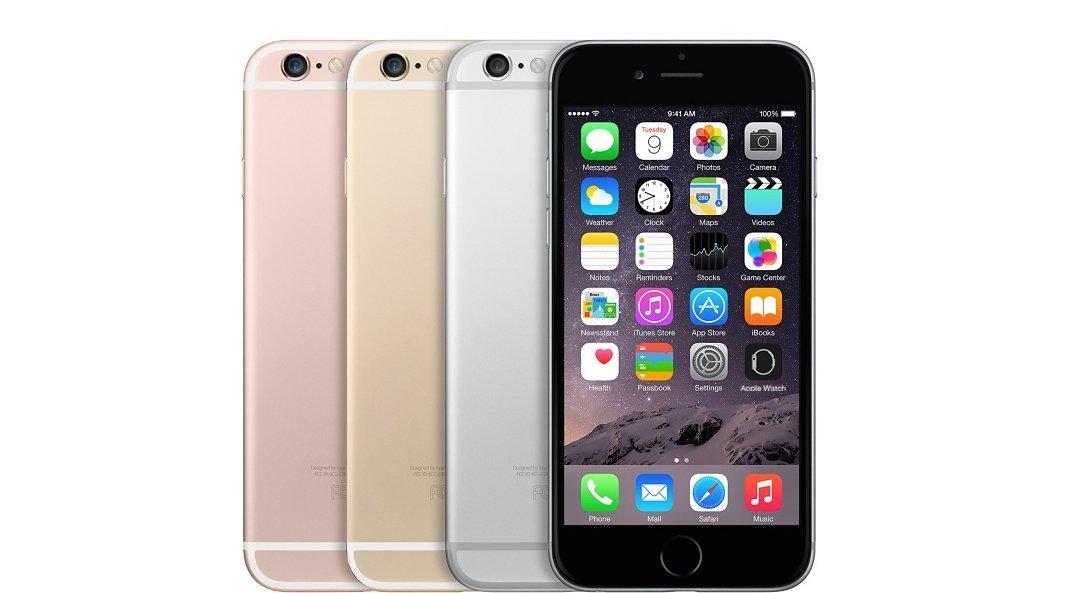 В России продажи iPhone 6s и iPhone 6s Plus провалились