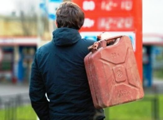 ВКирове словили мужчину вовремя 3-й кражи топлива