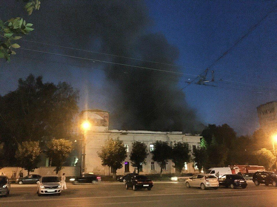 Игорь Васильев дал распоряжение посодействовать погорельцам изпожарной части