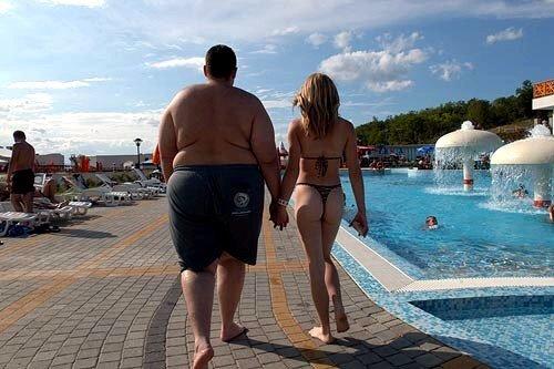 Стройные друзья помогают сбросить лишний вес