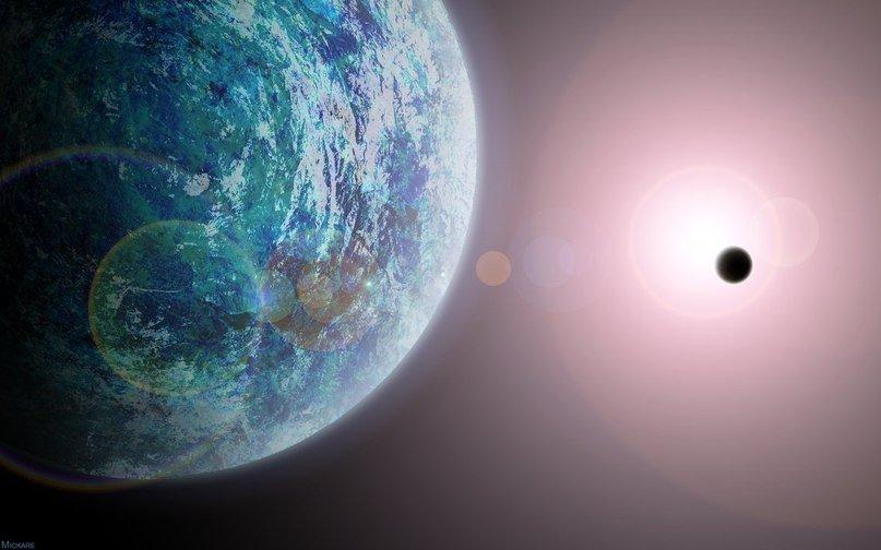 Граждане ближайшей кЗемле экзопланеты светятся втемноте— Планетологи