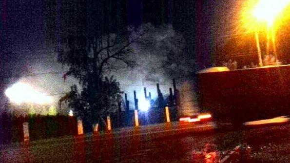 20 спасателей тушили возгорание налыжном комбинате вНововятске