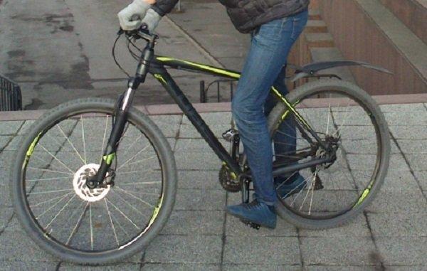 ВЯранске оставленный наулице велосипед украли, подарили иразобрали на детали