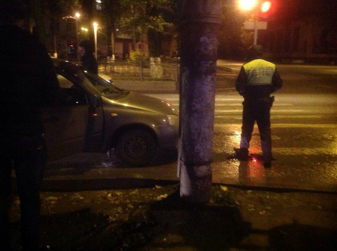 Ночной патруль поймал пьяного сотрудника ППС
