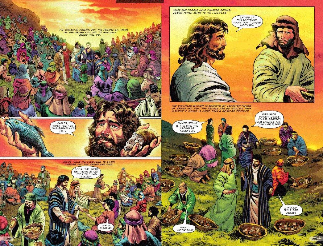 Американское христианское издательство выпустило комикс помотивам Библии