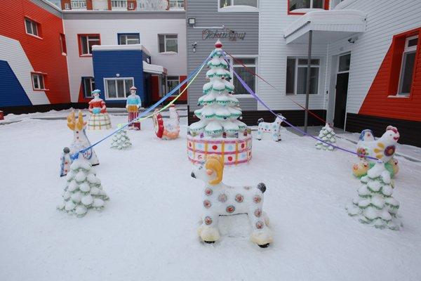 Конкурс для детского сада по оформлению к новому году