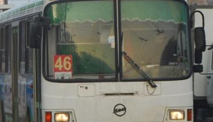 ВКирове зажегся автобус
