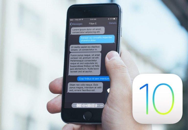 IOS 10.3 стемным режимом интерфейса может выйти вначале года