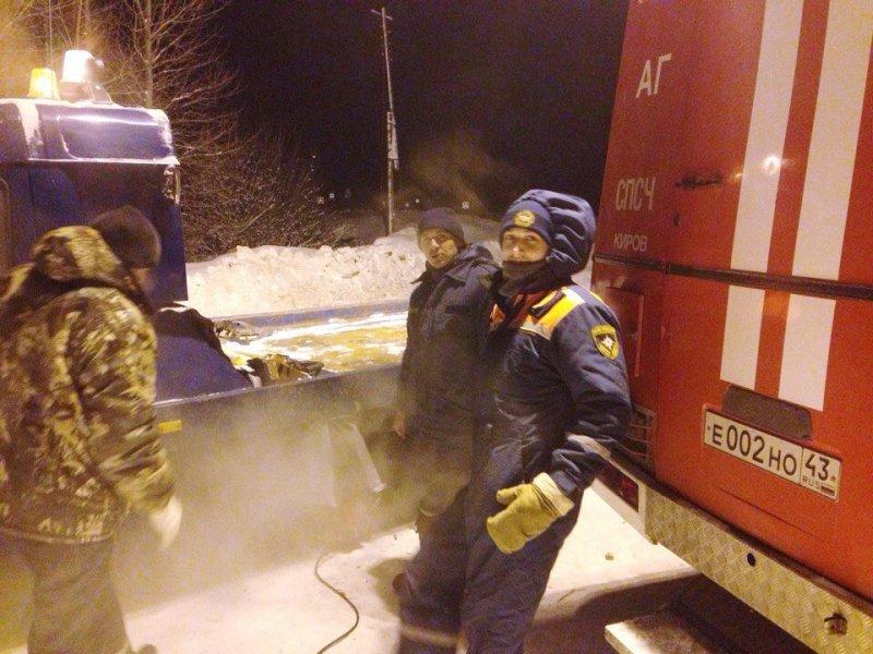 ВКировской области вмороз натрассе застряла семья