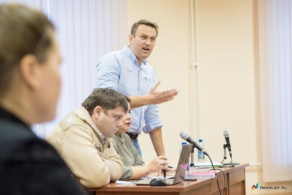 Навальный потребовал взыскать 3,4 млн руб. ссудьи поделу «Кировлеса»