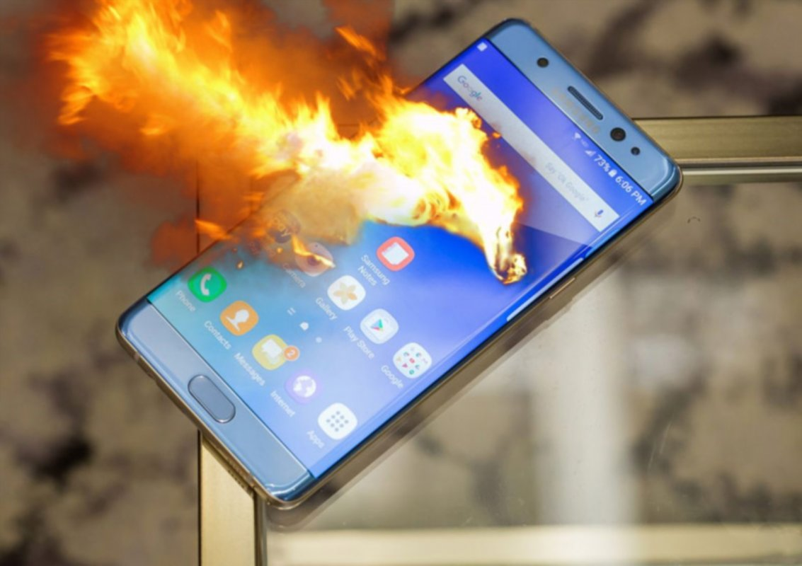 Cтало понятно, почему горел Galaxy Note 7