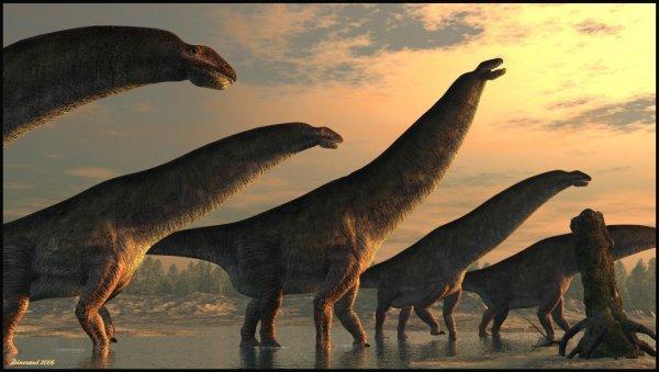 Динозавров погубили холод итьма— ученые