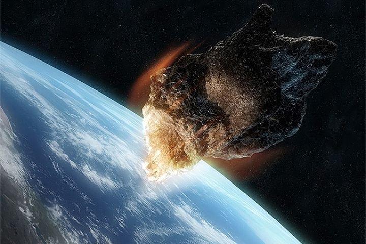 Учёные прогнозируют падение гигантского астероида наЗемлю