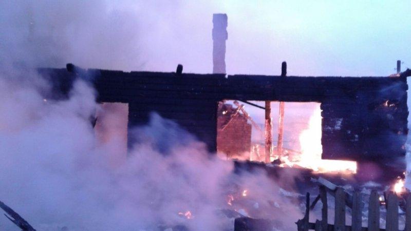 ВОмутнинске врезультате пожара погибли два человека
