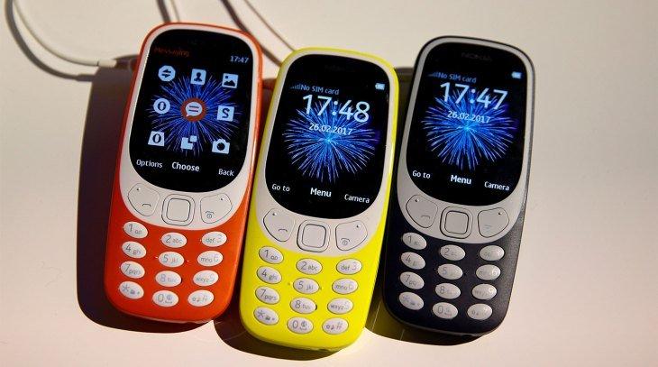 Стала известна цена обновленной Nokia 3310