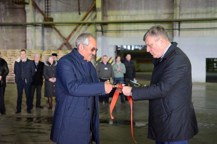 ВКирово-Чепецке началось производство плит ДВП
