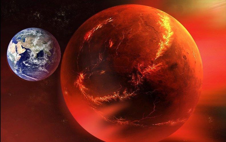 На Марсе нашли башни инопланетян