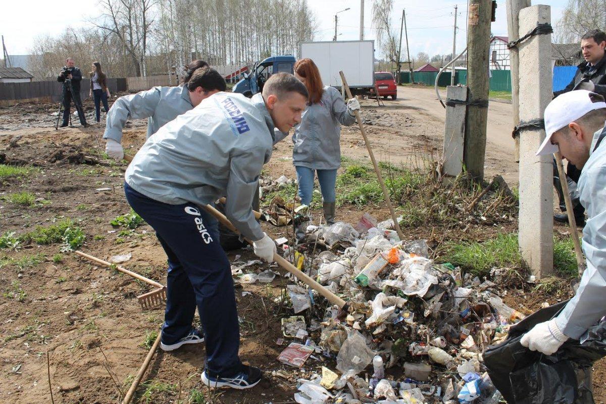 Кировские активисты ликвидировали 5 несанкционированных свалок