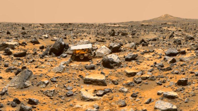 Уфологи отыскали наповерхности Марса подписанный пришельцами танк