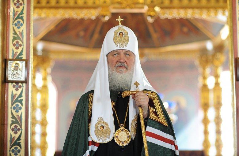 Патриарх Кирилл наВятской земле