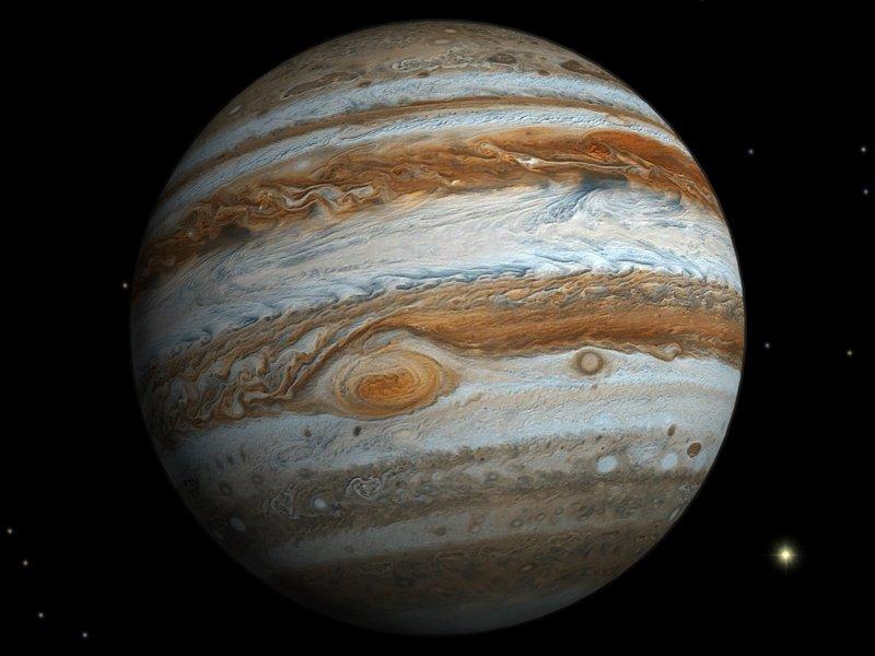 Врайоне Юпитера найден  неизвестный знак