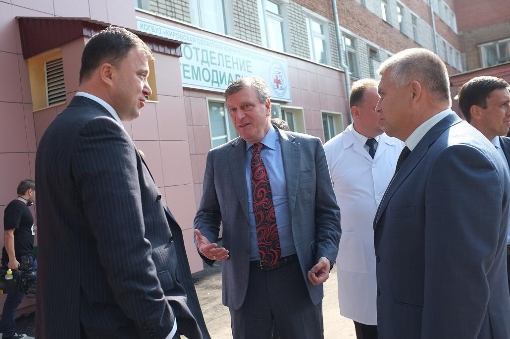 Третье отделение гемодиализа открыли в Кировской области