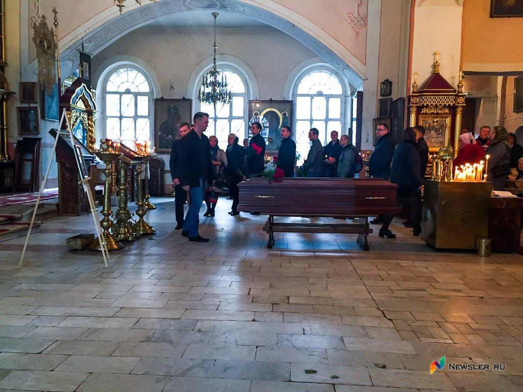 В Кирове простились с основателем холдинга INMEDIA Ильей Рычковым