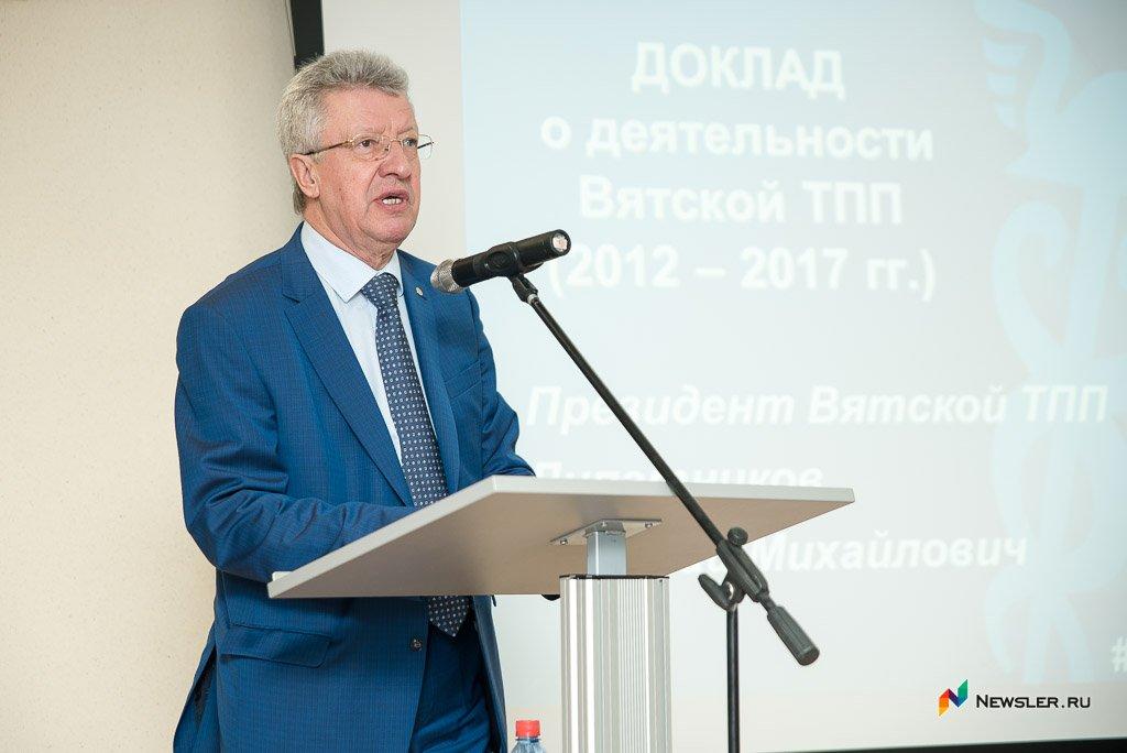 Николая Липатникова избрали президентом шестой раз