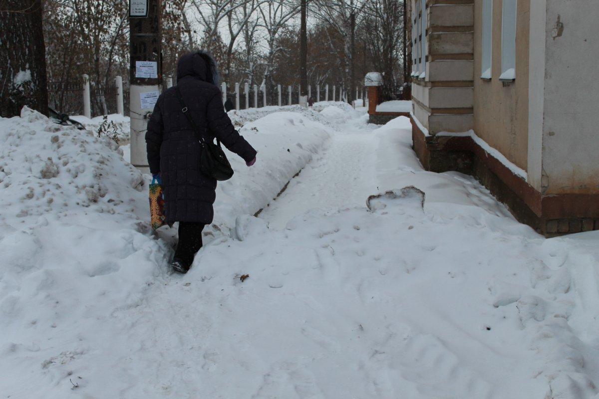 ОНФ: Городские власти не собираются следить за уборкой снега зимой в Кирове