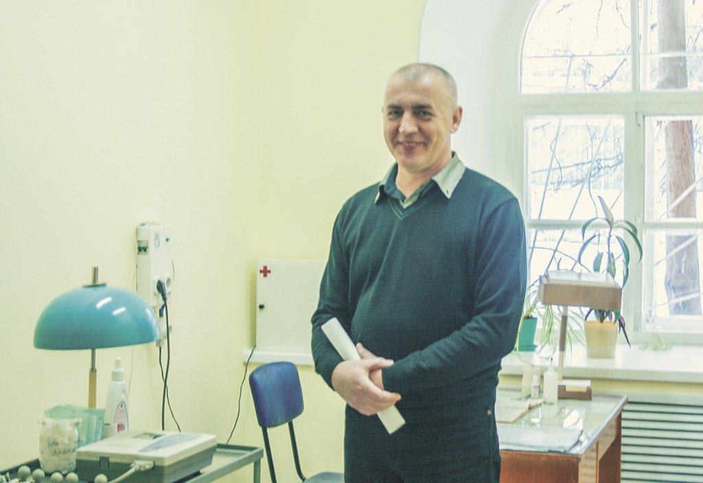 Главный врач спортивной медицины