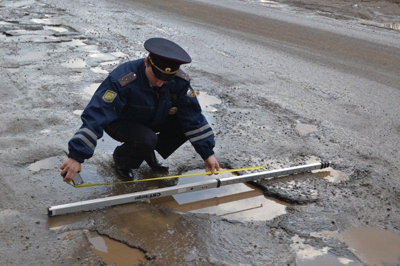 Какие ямы допустимы на казахстанских дорогах — kolesa. Kz    почитать.