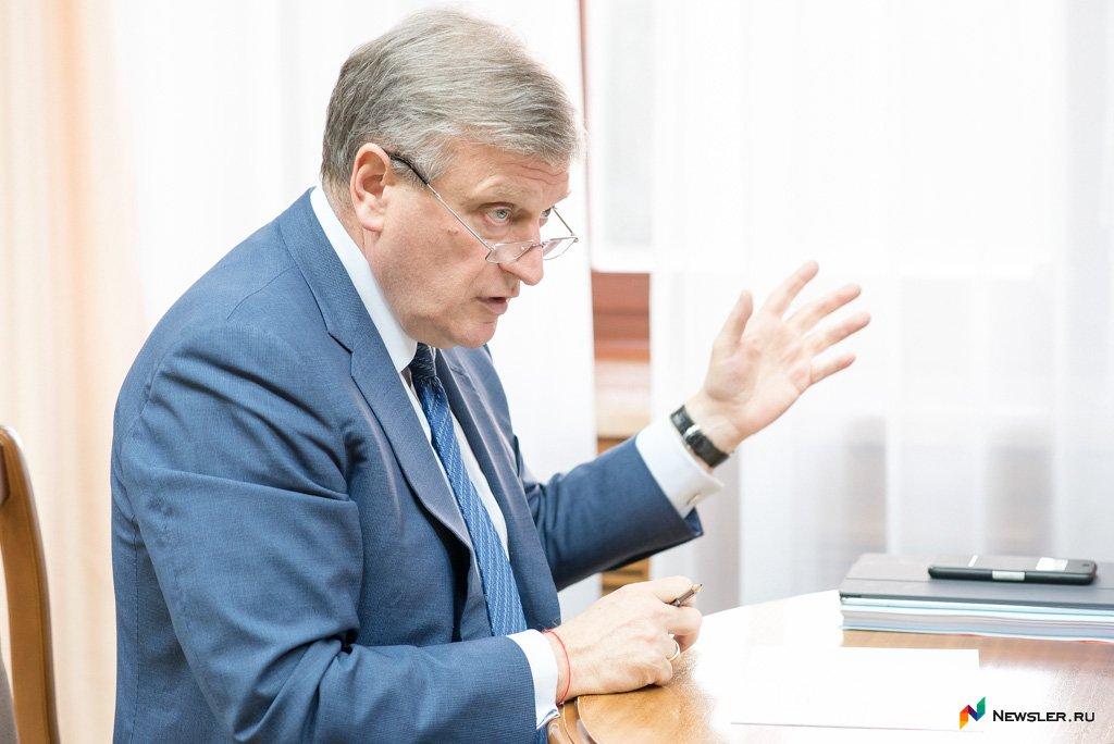 Васильев снова упал в рейтинге губернаторов