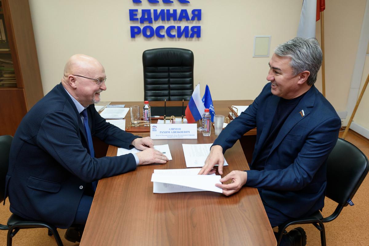 Рахим Азимов исполнит наказы жителей Свечинского  и Подосиновского  районов