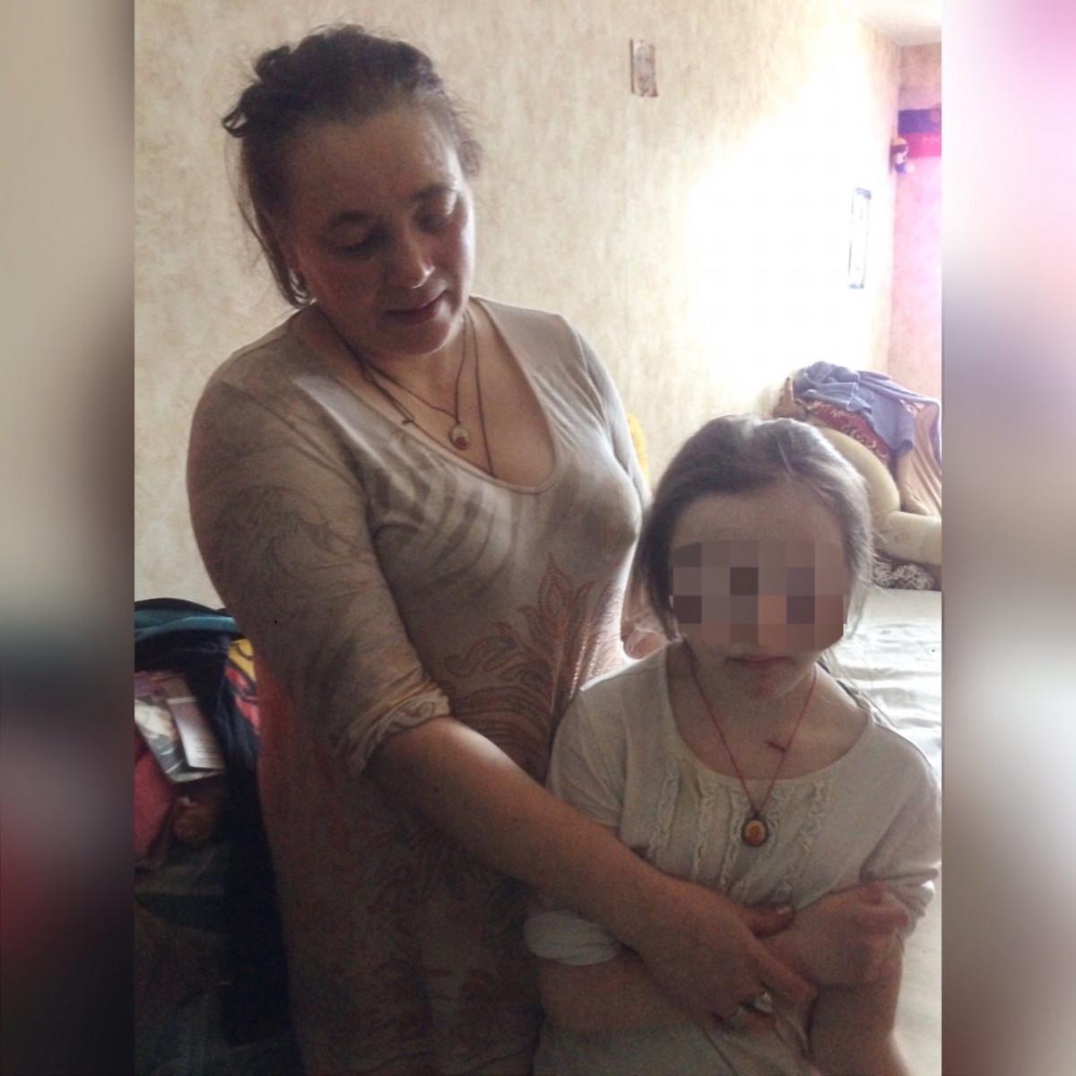 Ирина Субботина с младшей дочерью Дашей