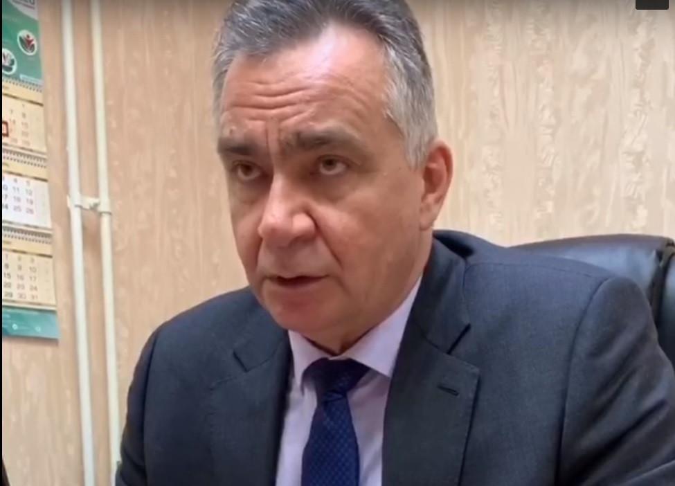 Министр здравоохранения Кировской области Андрей Черняев.