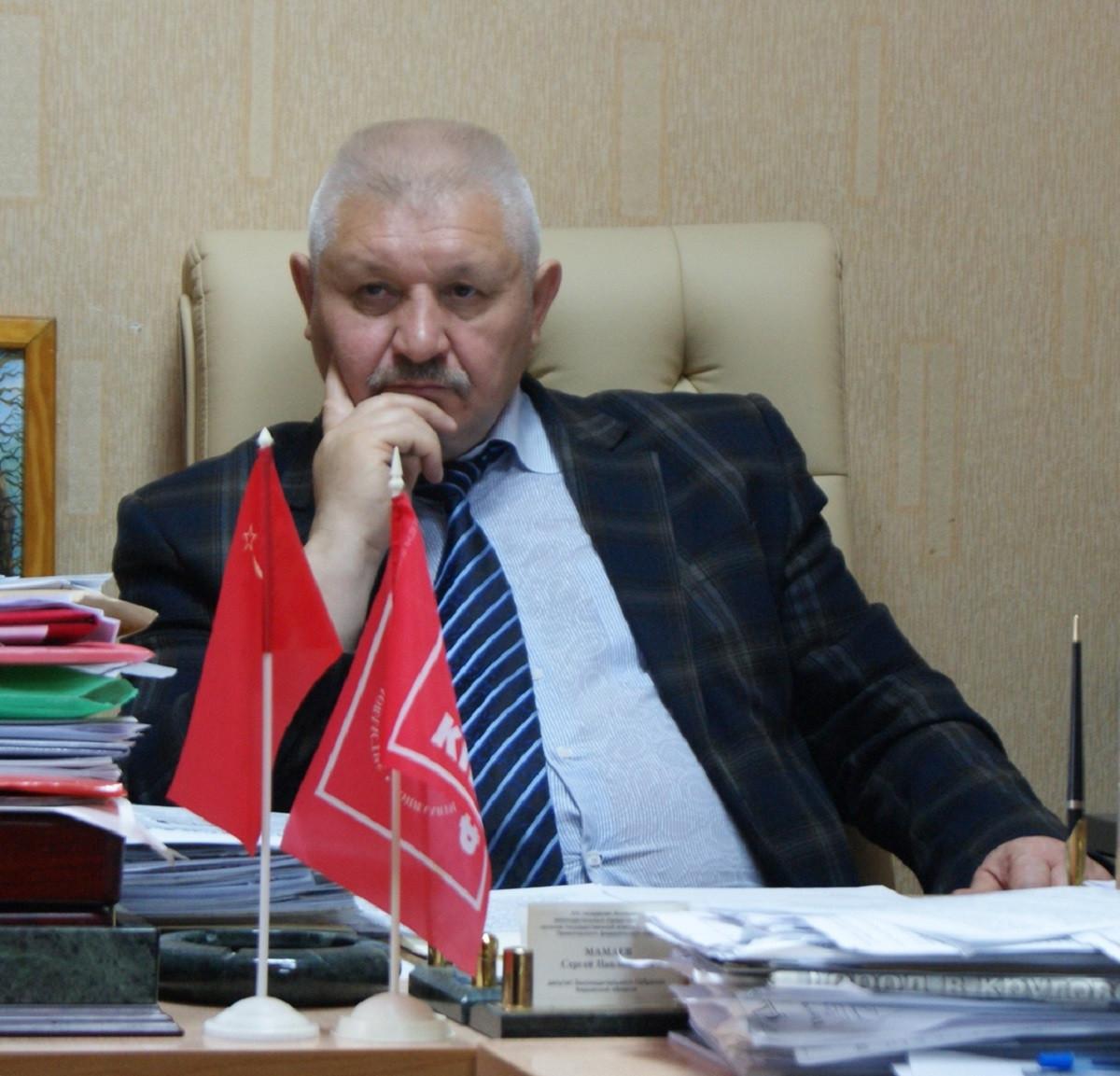 Сергей Павлинович Мамаев, лидер кировских коммунистов.