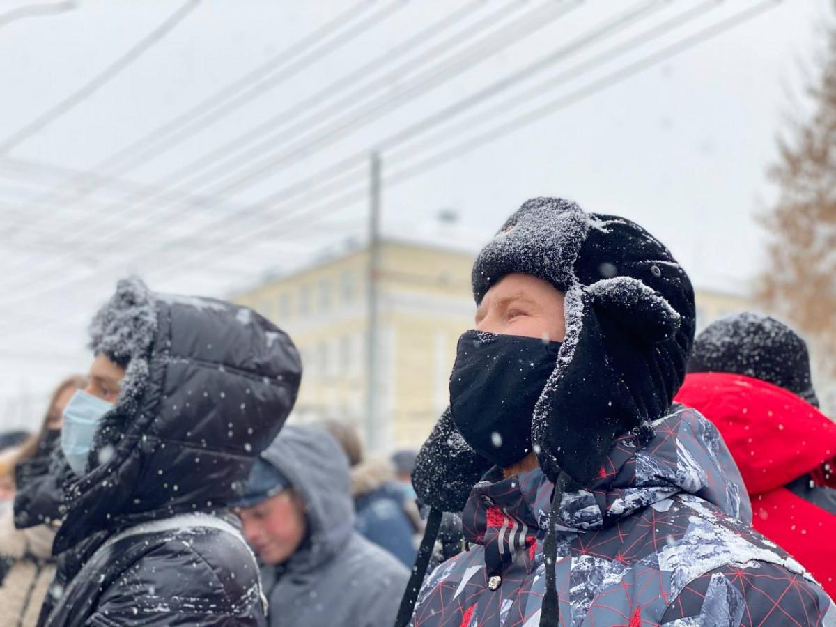 Появилось видео с митинга «навальнистов» - Общество - Newsler.ru